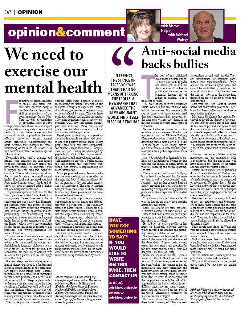 mental health news articles